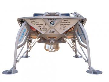 SpaceIL's Beresheet spacecraft